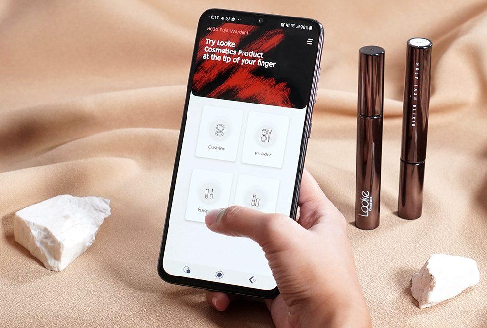 Introducing Looké Beauty App, Langkah Mudah Mencoba Produk Looké