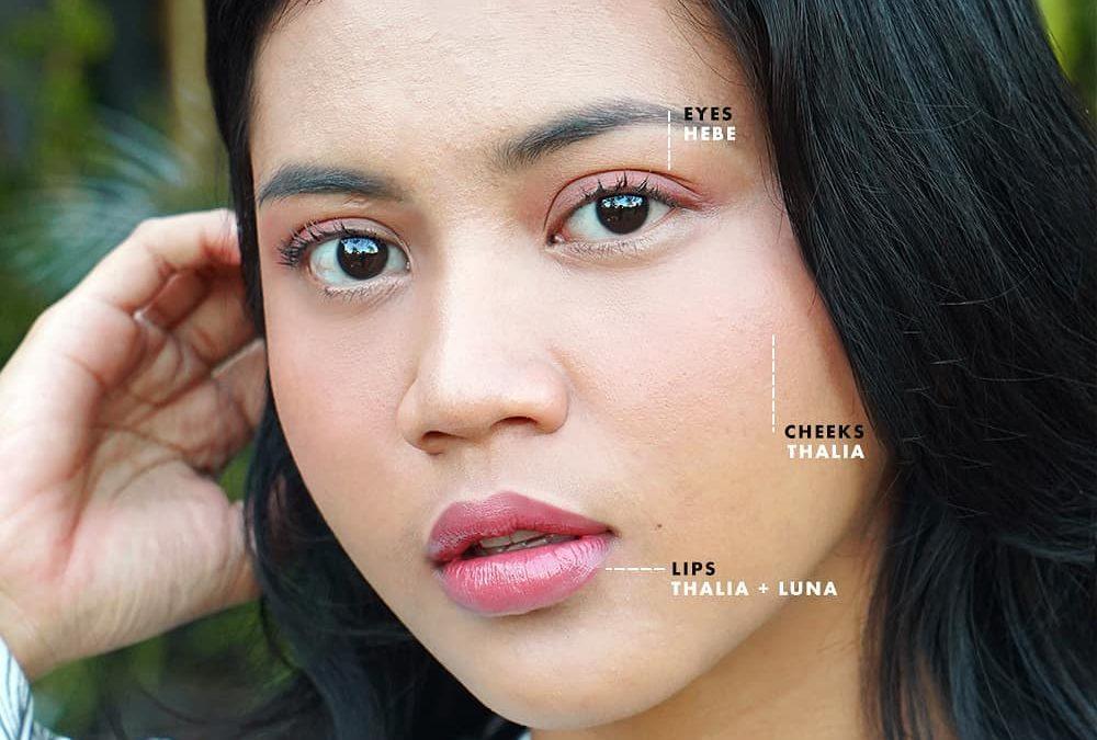 Natural Makeup Look Saat Berolahraga di Rumah