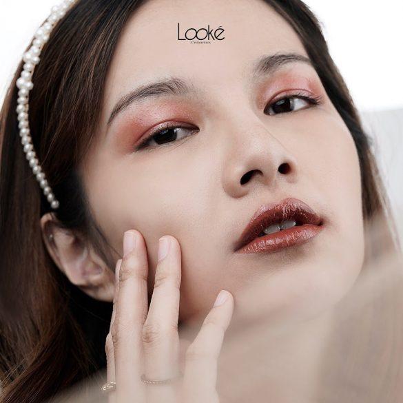 makeup glowing