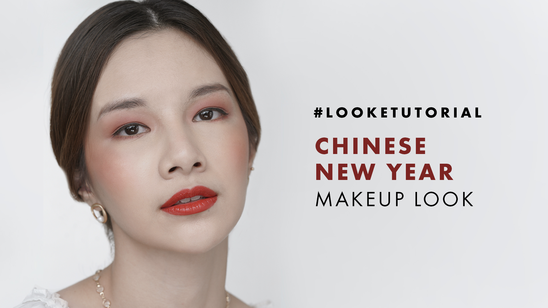 tutorial makeup cny