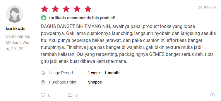 Review Holy Flawless BB Cushion